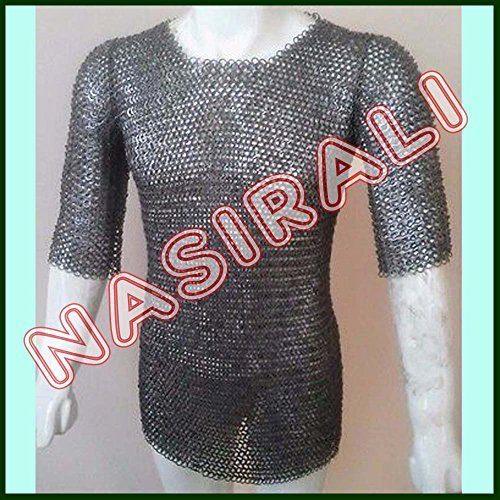 Primary image for NauticalMart Flat Riveted With Washer Chain Mail Shirt Small Medieval Chainmail