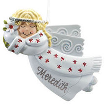 Birthstone Angel Ornament-plainaAugust - $16.99