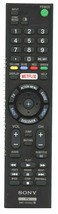 NEW SONY Remote Control for  XBR75X855C, XBR75X910C, XBR75X940C - $27.80
