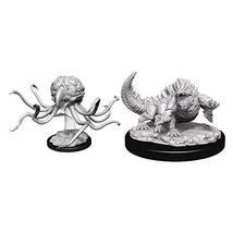 WizKids D&D Nolzurs Marvelous Upainted Miniatures: Wave 11: Grell & Basilisk - $8.99