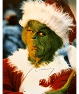 JIM CARREY AUTOGRAPHED SIGNED HOW THE GRINCH STOLE CHRISTMAS 11x14 PHOTO... - $124.99