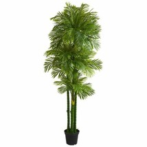 Luxury Multicolor 7.5' Phoenix Artificial Palm Tree  - 7.5 Ft. - $318.67