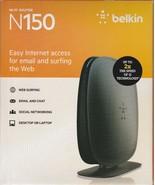 Belkin N150 Wireless/WiFi N Router (Latest Generation) with MultiBeam Te... - $18.99