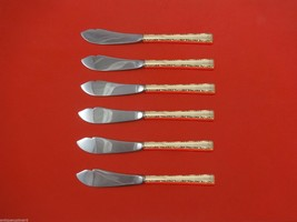 """Madrigal by Lunt Sterling Silver Trout Knife Set 6pc. HHWS  Custom 7 1/2"""" - $358.25"""