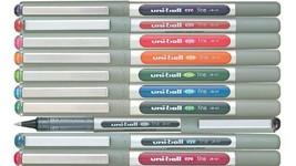 Uni-Ball EYE UB-157 Rollerball Pen Medium 0.7mm Pack of 10 - One of each... - $13.99