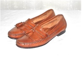 f5ba081ef G H Bass Men  39 s Brown Leather Kiltie Tassel Loafer Slip On Shoe Brazil