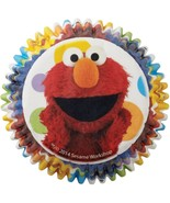 Sesame Street 50 Baking Cups Party Cupcakes Liners Elmo - $2.96