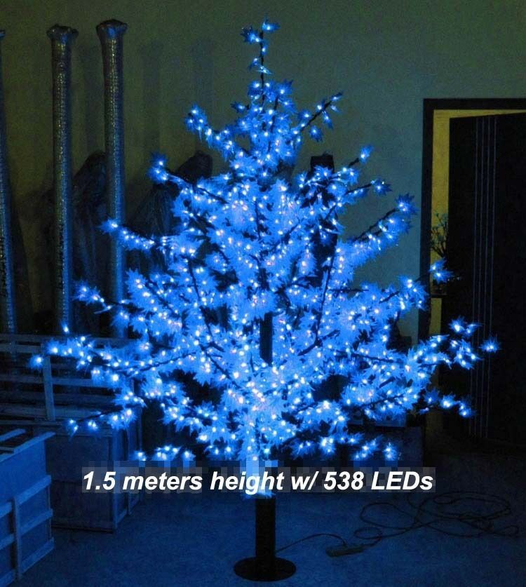 1.5 M LED Maple Leaf Tree Light Outdoor Wedding Garden Holiday Christmas Decor - $355.00