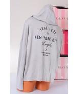 VICTORIA'S SECRET ~True Love NYC~ Hoodie Sweat Jacket Viscose Zip-Up, M ... - $61.99