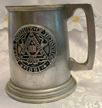 Vintage Drexel Institute of Technology Science Industry Art Pewter Mug 1891 image 1