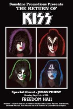 "KISS 1979 Louisville Kentucky ""Freedom Hall - Return Of KISS"" Stand-Up D... - $15.99"