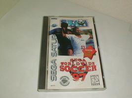 Sega Worldwide Soccer '97 Sega Saturn complete in box - $24.00