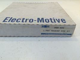GM General Motors Electro Motive OEM Iron Bore Ring Set 40026487 Made in USA image 8