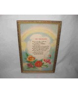 """Neat Vintage 7"""" X 11"""" To Mother Print Flowers - $43.35"""