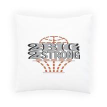 2 Big 2 Strong Basketball Pillow Cushion Cover w483p - $243,36 MXN+