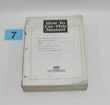 1996 Ford Windstar Factory Service Manual Well Used Condition 7 - $24.70