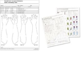Touch-Test® Screening Forms by Fabrication Enterprises - Options-(12-156x) - $28.99