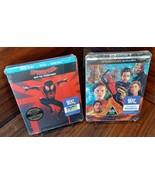 Spider-Man Far from Home(4K+Blu-ray)+Spider-Man into Spider Verse Steelb... - $48.60