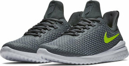 NIKE RENEW RIVAL MEN'S GREY/VOLT RUNNING SHOES #AA7400-007 - $59.99