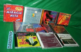 12 Assorted 80's 90's Music CD's Hits Big 80's Electronic Rockin Party Modern - $69.29