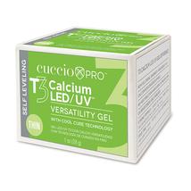 Cuccio Pro T3 Calcium LED/UV Versatility Gel, White  1 oz image 2