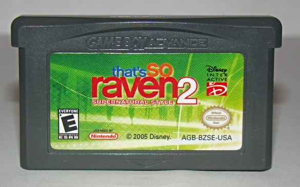 Nintendo GAME BOY ADVANCE - that's so raven 2 (Game Only)
