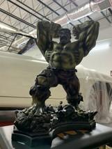 Marvel Bowen Avengers The Incredible Hulk Faux Bronze Statue Figure X-MEN - $405.00