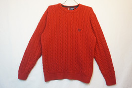 Chaps Ralph Lauren Classic Braided Heavy Cotton Sweater, Unused, Mens Large 8012 - $18.44