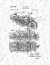 Vehicle Structure Patent Print - Gunmetal - $7.95+