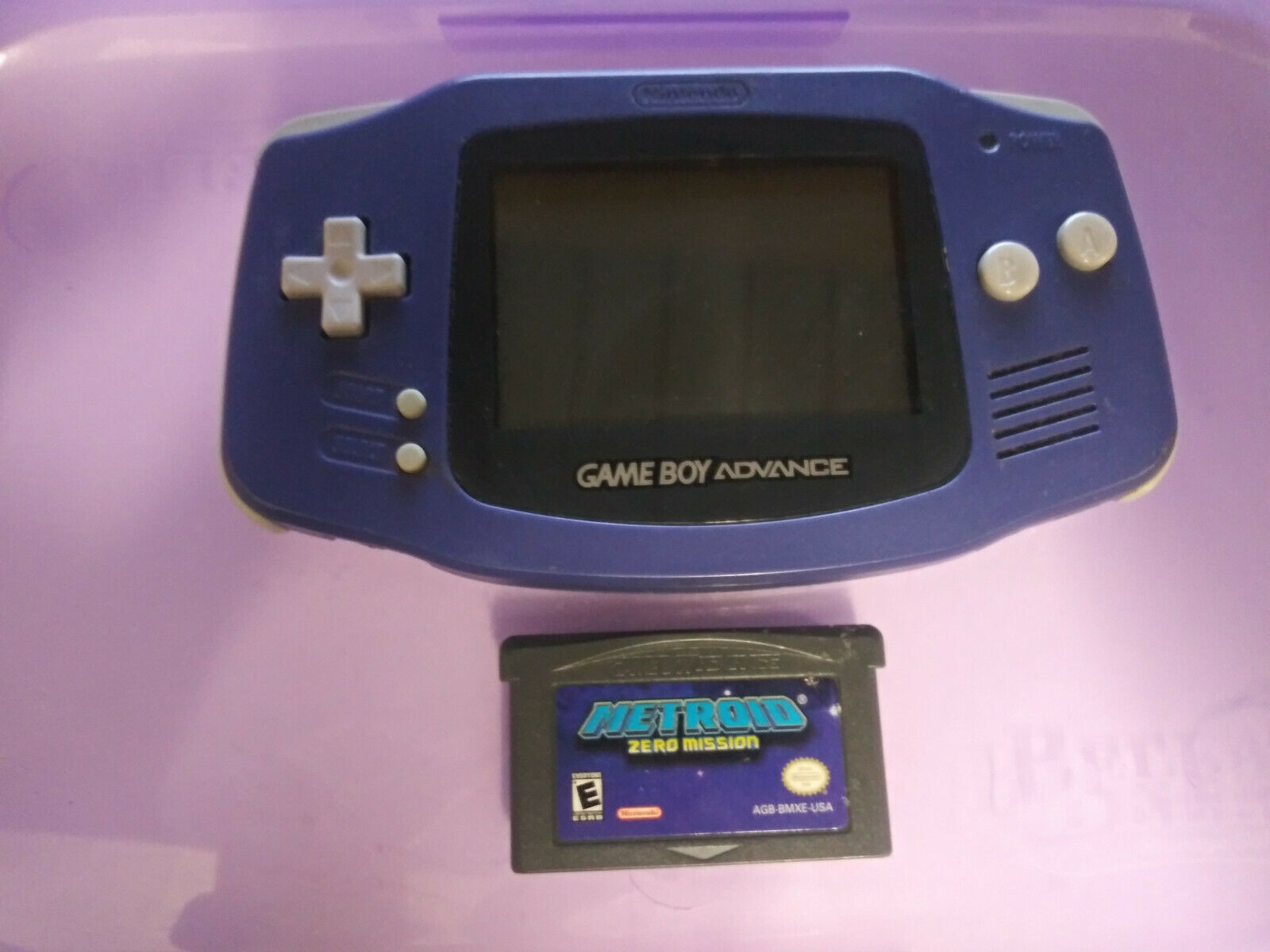 Original Game Boy Advance Purple
