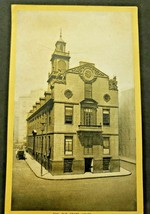 Antique Singer Sewing Co. Trade Card  'The Old Statehouse - Boston Mass.' (B-1) - $14.99