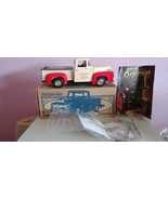 Ertl Collectibles 1956 Ford Pickup Die Cast Metal Vehicle Bank Kellogg's... - $39.99
