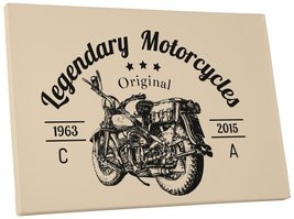 "Pingo World 0722QA6GPUM ""Legendary Motorcycles Club"" Gallery Wrapped Canvas Wall - $158.35"