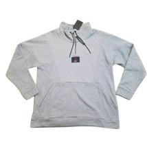 Jordan Jumpman Flight Loop 1/4 Zip Men's Pullover Sweater Grey-Black AV2... - $44.00