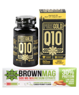 Protein Bar Peanuts Magnesium Citrate Muscle Recovery + Coenzyme Q10 120... - $66.32