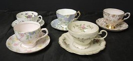 5 Vintage Hammersly Cups & Saucers ** Tuscany * Royal Albert * Rosenthal - $71.24