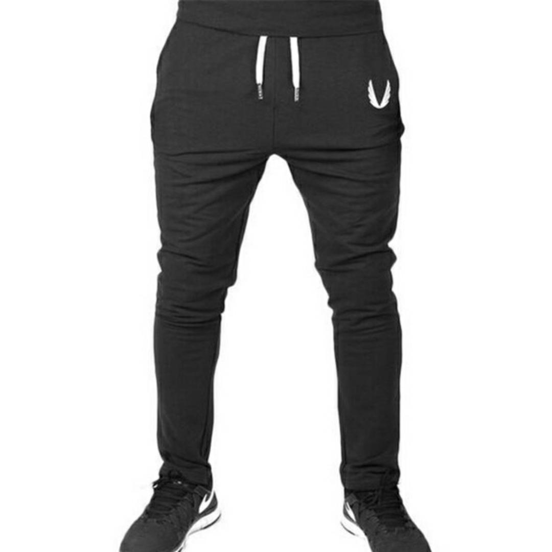Used, New Fashion Men's Sport Pants Sweater pants Harem Pants Dark Grey for sale  USA