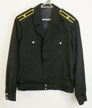 Soviet Russian Military Navy Officer Uniform Captain 3d Rank Jacket Tuni... - $19.80