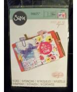 Sizzix Thinlits #662466 - Katelyn Lizardi Travel Notebook Die - NEW - $10.00