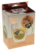 True Brands Pinky Up Teacup Pig Charmed Tea Infuser Ball & Enamel Charm ... - $3.99