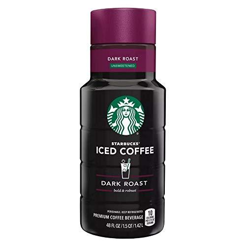 Primary image for Starbucks Iced Coffee & Chilled Espresso Drinks 40/48 ounce Bottles (Dark Roast)