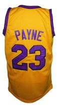 Martin Payne #23 Tv Show Basketball Jersey New Sewn Yellow Any Size image 2