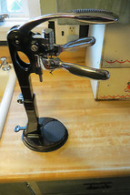 Wine Bottle clamp holder and push lever & cork tool screws into cork,all... - $52.25