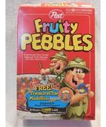 Flintstones 1996 Post Fruity Pebbles Cereal Box Treasure Clue Medallion ... - $7.95