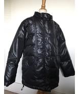 Gap Kids Black Winter Warmest Puffer Down Snow Coat Ski Jacket XL 12 Boy... - $38.52