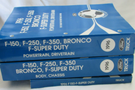 1996 Ford F-150 250 350 BRONCO Camion Servizio Negozio Riparazione Manua... - $281.47