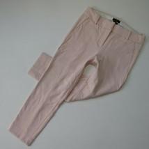 NWT J.Crew 365 Cameron Slim Crop in Subtle Pink Four Season Stretch Pants 8 - $52.00