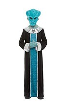 Alien Costume, Blue, With Robe & Eva Mask - $26.49