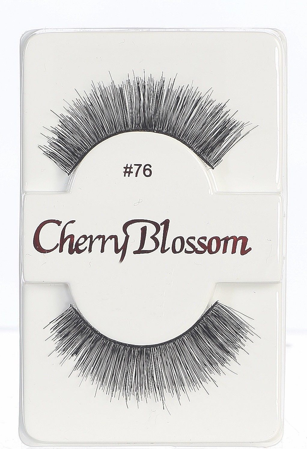 Primary image for CHERRY BLOSSOM EYELASHES MODEL# 76 -100% HUMAN HAIR BLACK 1 PAIR PER PACK