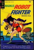 Magnus Robot Fighter #29 1971- Gold Key Sci-fi Comic VG+ - $16.97